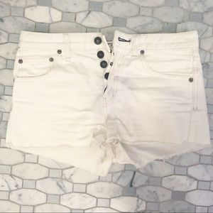 white cutoffs